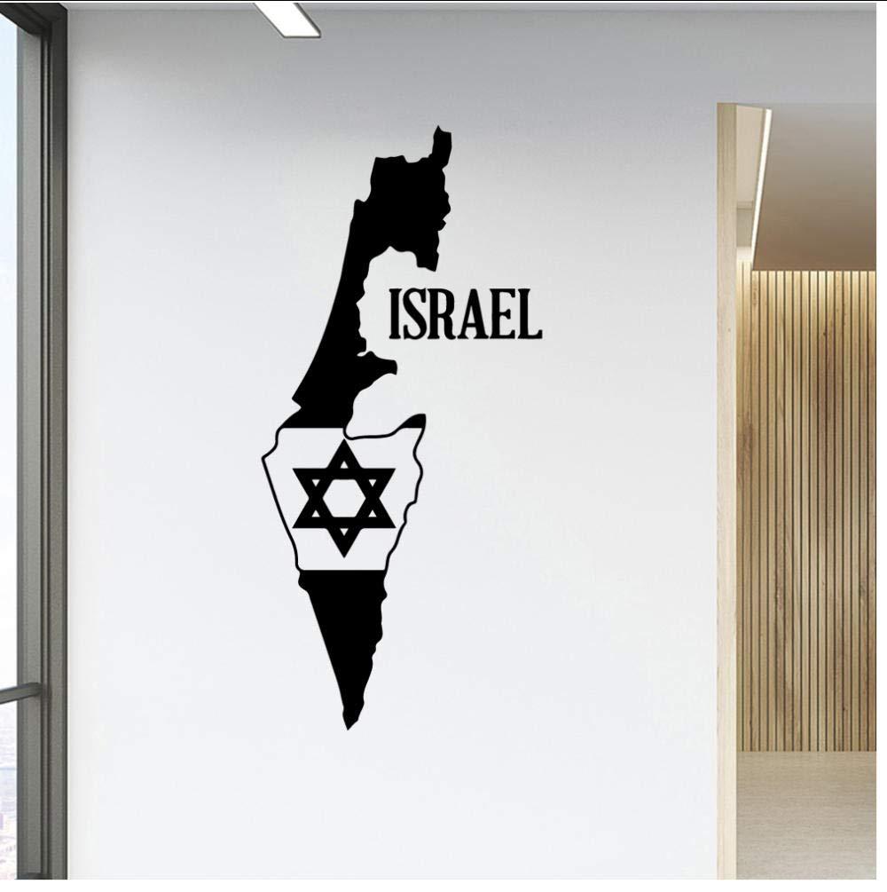 DIY Art israel Decoración del hogar Accesorios Pvc Tatuajes de ...