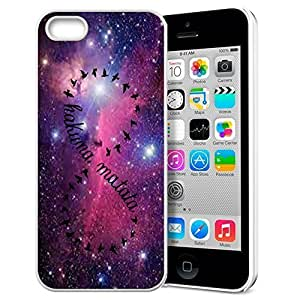 Africa Ancient Proverb fashion case Color Accelerating Universe Star Design Pattern HD Durable Hard Plastic Case Cover for iphone 5c