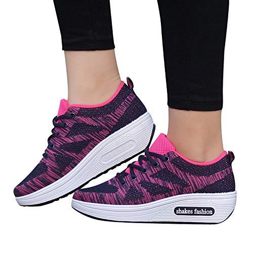 Sneakers Tissage De 39 Sport Fitness Chaussures Travail En Course 36 Femmes Eu Sécurité Gongzhumm Noir Chaussure qTvXxwq