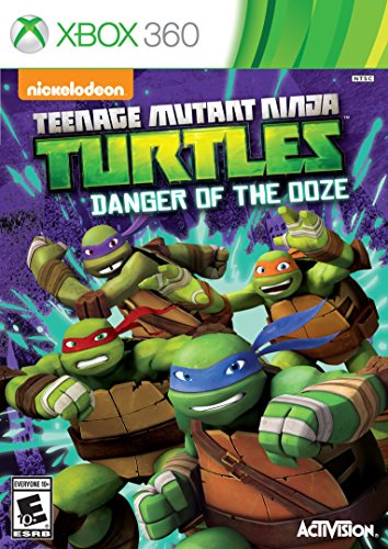 Teenage Mutant Ninja Turtles: Danger of the OOZE - Xbox 360 by Nickelodeon
