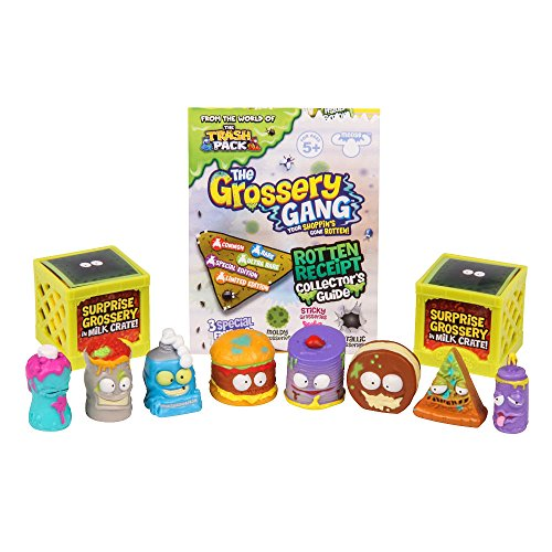 The Grossery Gang Season 1 Large Pack (10) by Moose Toys