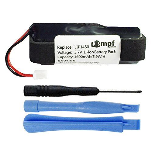 MPF Products 1600mAh Extended LIS1441, LIP1450 Battery Replacement Compatible with Sony PS3 Playstation 3 Move Motion Controller CECH-ZCM1E, CECH-ZCM1U (Move De Ps3)