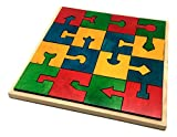 Skola Toys Locking Blocks - Interlocking Jigsaw Puzzles