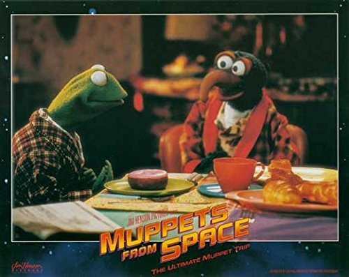 Muppets From Space POSTER Movie (1999) Style H 11 x 14 Inches - 28cm x 36cm (Jeffrey Tambor)(F. Murray Abraham)(David Arquette)(Ray Liotta)(Andie MacDowell)(Rob Schneider)(Josh Charles)