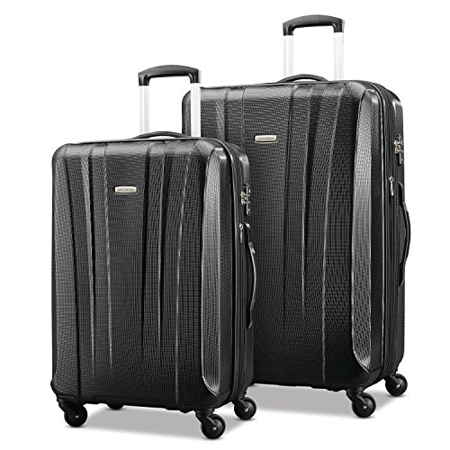 SAMSONITE LIGHTWEIGHT 2 PIECE HARDSIDE SUITCASES NOW ONLY $135.59!
