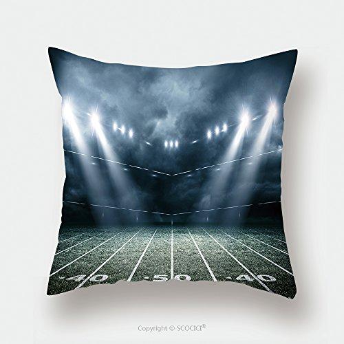 Custom Satin Pillowcase Protector American Soccer Stadium D Rendering 501029677 Pillow Case Covers Decorative by chaoran