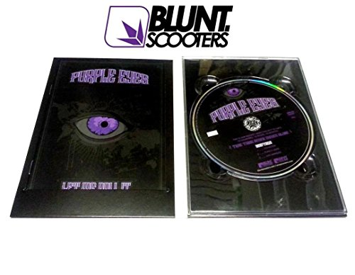 Blunt Stunt-Scooter Purple Eyes DVD Roller Scooterfilm