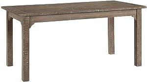 Progressive Furniture Teresa Dining Table, Natural Distressed Oak