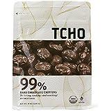 Tcho Chocolate Baking Chips,Og2,Dk,99% 8 Oz (Pack Of 12)