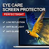 PERFECTSIGHT Screen Protector for New MacBook Pro 15 inch Touch Bar 2016/2017/2018, 55% Anti Glare Matte [55%- 70% Blue Light Filter]