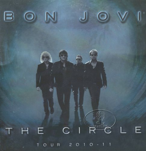 Bon Jovi 2010-2011 Tour Concert Program Programme Book