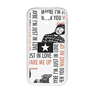 Cute cat and naughty boy Cell Phone Case for Samsung Galaxy S4