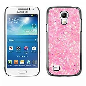 Paccase / SLIM PC / Aliminium Casa Carcasa Funda Case Cover - Pink Snow Bright Reflective Diamond - Samsung Galaxy S4 Mini i9190 MINI VERSION!