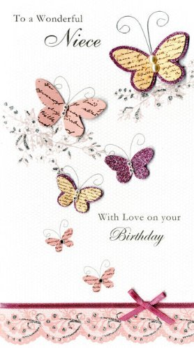 Image Unavailable Not Available For Color Wonderful Niece Happy Birthday Greeting Card