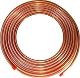 "ICS Industries - 1/4"" OD Copper Refrigeration ACR Tubing 100 FT"