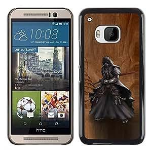 Be Good Phone Accessory // Dura Cáscara cubierta Protectora Caso Carcasa Funda de Protección para HTC One M9 // Japanese Ancient Samurai Katana Warrior