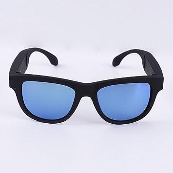 Gafas De Conducción Ósea, Auriculares Deportivos Gafas De Sol Polarizadas Música Estéreo Inalámbrico Bluetooth Auriculares