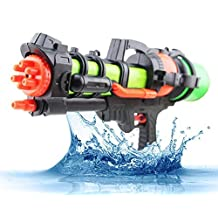Summer Splasher Single Nozzle Pump Toy Water Gun, Super Blaster Soaker Perfect for Outdoor Fun in Summer (Colors May Vary)