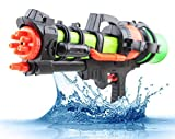 WarmHome Summer Splasher Single Nozzle Pump Water Gun, 23-Inch (Colors May Vary)