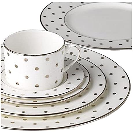 Kate Spade New York Larabee Road Platinum 5 Piece Place Setting