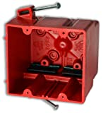 Allied Moulded 2302=NKRED Red Fire Circuit Fiberglass Box