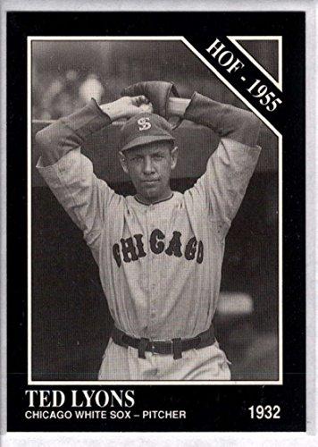 Baseball MLB 1991 Conlon Collection #19 Ted Lyons HOF NM-MT White Sox