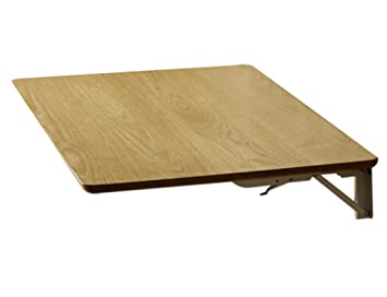 Ordinateur de bureau pliage mur une table à manger couleur en bois