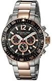 Stuhrling Original Men's 868.04 Octane Torricelli Quartz Chronograph Diver Two Tone Watch