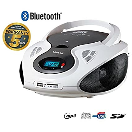 Lauson CP440 Portatile Bluetooth CD Radio