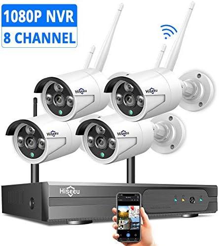 Hiseeu Expandable Surveillance Weatherproof Monitoring product image