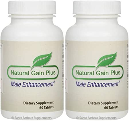 Amazon Com Natural Gain Plus Natural Male Enhancement 2 Bottle