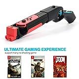 LYCEBELL Game Gun Controller for Nintendo Switch