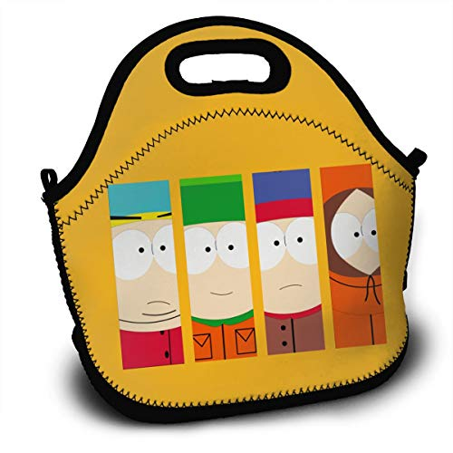 - Sunmoonet Insulated Lunch Bag South Park Bento Lunch Bag Backpack Thermal Lunch Bag for Kids Teens