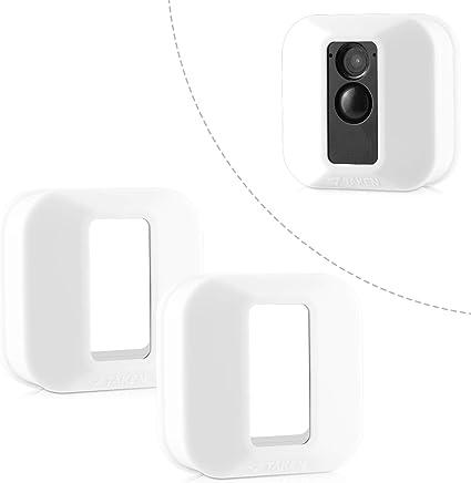 Blink Xt Hülle Silikon Skin Für Blink Xt Outdoor Home Security Kamera Uv Und Wasserfest Indoor Outdoor Blink Xt Schutzhülle 2er Pack Weiß Elektronik