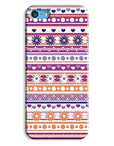 Floral Aztec Pattern Case for your iPhone 5C