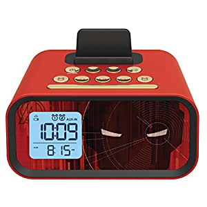 Iron Man Dual Alarm Clock sistema de altavoces (mr-m23)