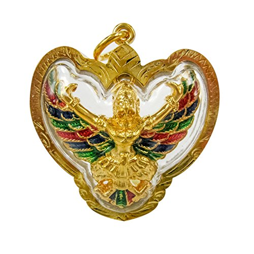 (Garuda Holy Amulet Power Pendant Gold Plating GPM09)