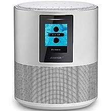 Bose Home Speaker 500 - Altavoz con Amazon Alexa integrada, Peso de 2.15 kg, Plateado (Luxe Silver), 20.3 x 17 x 10.0 cm