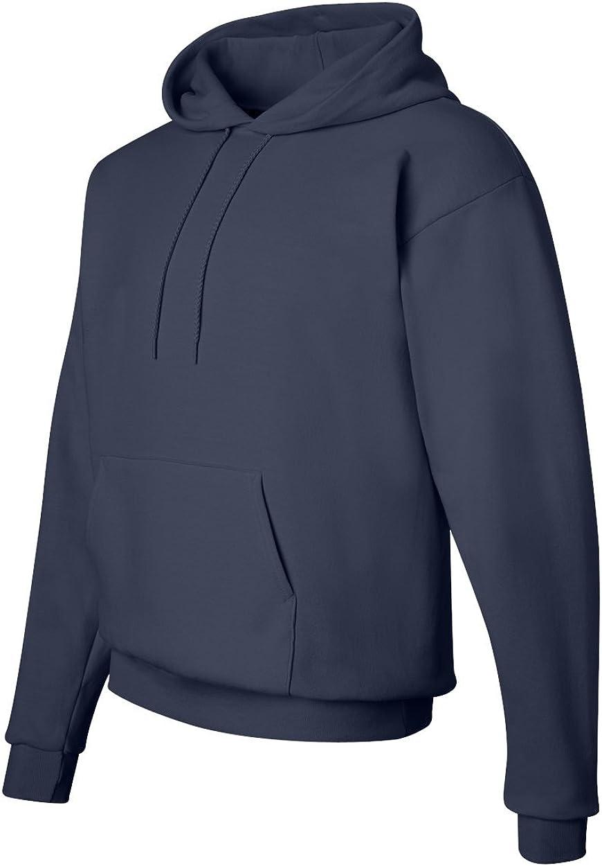 Hanes Comfort EcoSmart Pullover Hooded Sweatshirt Navy