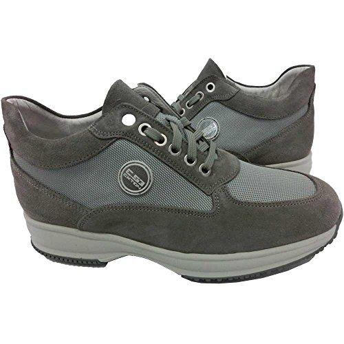 Exton - Zapatillas para hombre Marrón negro 45 EW4xBUA9