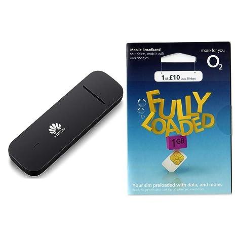 HUAWEI E3372h-153 Módem USB Dongle 4G/LTE + Tarjeta SIM de ...