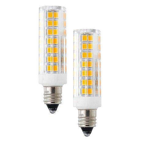 E11 Led Bulb Dimmable E11 Candelabra Bases 6w Equivalent 60w 580lm Omni Directional 360 Degree Beam Angle 120volt Warm White 3000k 2packs