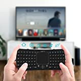 Mini Wireless Keyboard Touchpad : Jelly Comb 2.4GHz Handheld Remote Control Touchpad Keyboard with Mouse for Smart TV, TV Internet Boxes, PC, Laptop, PS3, PS4, Microsoft Surface Tablet, HTPC, IPTV ect