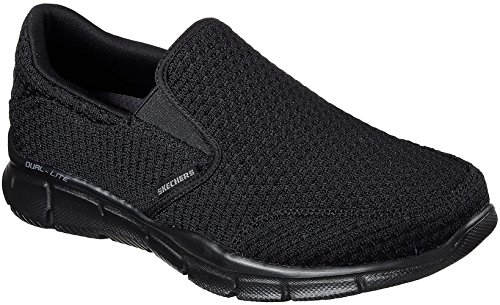 Equalizer Slickster Mocassini Black Skechers Black Uomo 1OZTwwq