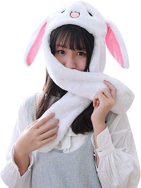 LIJUMN Bunny Hat – Cappellino con Coniglietto, Orecchio di