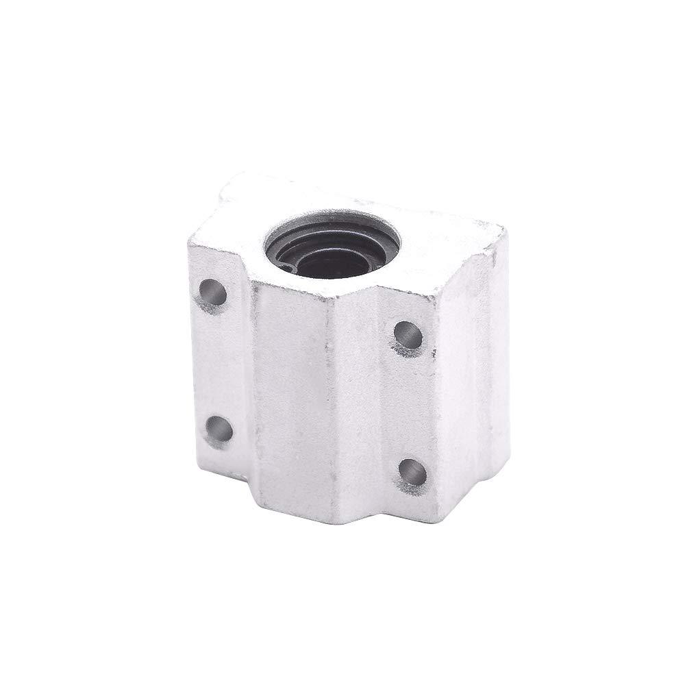 SC8UU 8mm Metal Linear Ball Bearing Pellow Block Unit FOR CNC SCS8UU 1 PCS