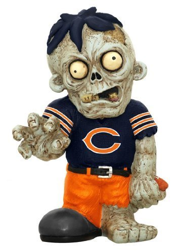NFL Zombie Figurine NFL Team: Chicago Bears