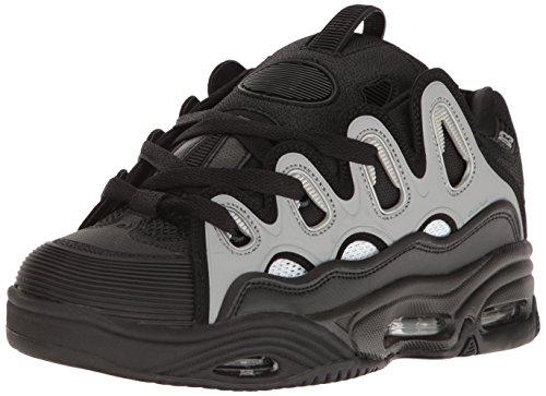 Zapatillas anchas D3 OSIRIS SHOES Color negro/gris Talla 43