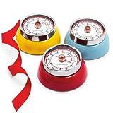 zassenhaus kitchen timer - Zassenhaus Retro Magnetic Kitchen Timer, Yellow