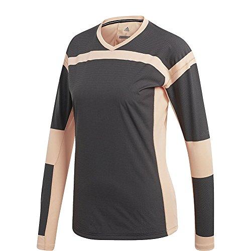 adidas outdoor Womens Terrex Agravic Hybrid Long Sleeve (XS - chalk Coral/Black)